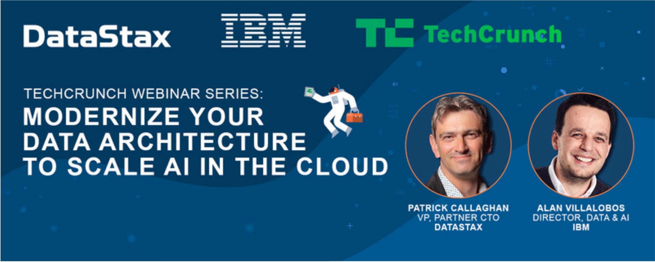 TechCrunch DataStax IBM